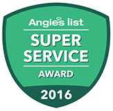 Angie's List: Super Service Award 2006-present