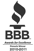 BBB Pinnacle Award 2010-2011